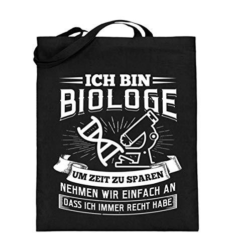 Chorchester Biologen Haben Immer Recht - Jutebeutel (mit langen Henkeln)
