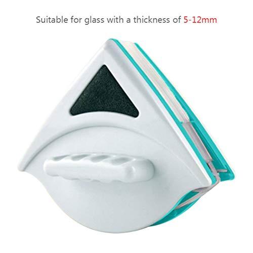 Phayee Magnetische vensterreiniger, dubbele window glas wisser zeilvliegtuig wasborstel, glaswisser reinigingsgereedschap