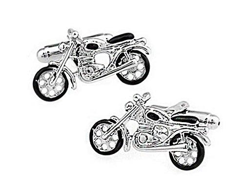 Ashton and Finch Gemelos de Moto Vintage en una Caja de presentaci/ón Novedad Deporte Automovilismo Transporte Tema Joyeria
