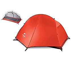 one person backpacking tent Naturehike Taiga 1 Person