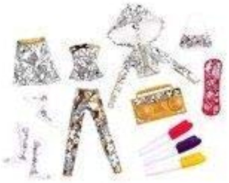 Moxie Girlz Arttitude Fashion Design Kit by Moxie Girlz