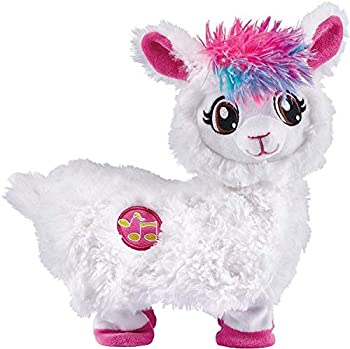 Pets Alive Boppi The Booty Shakin Llama Battery-Powered Dancing Robotic Toy by Zuru White