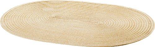 Pichler Tischset oval 48x33 cm Samba creme