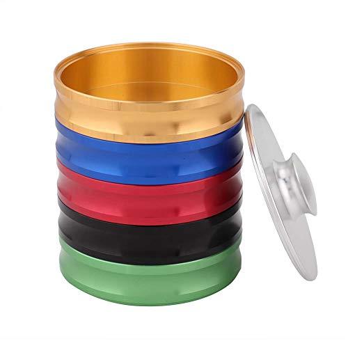 Valentinstag Karneval Professionelle Werkzeuge aus Aluminiumlegierung 5 Schichten Watch Clean Pot, Reinigung des Uhrenzylinders Waschwerkzeug Wasserdichter Ölreinigungszylinder, für Uhr