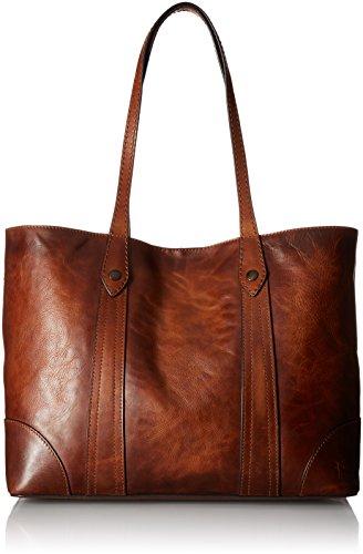 Frye womens Melissa Shopper Shoulder Handbag, Cognac, One Size US