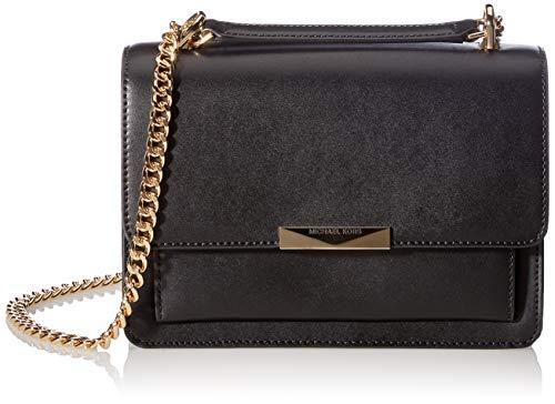 Michael Kors Womens Jade Handtasche, Black, large