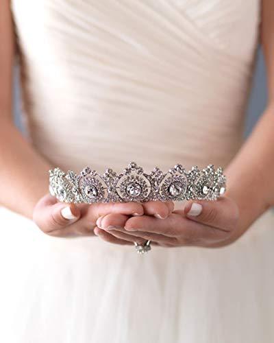 Simsly wedding tiara nuziale fiore corone per donne ( Gold ) hg-25argento (1)