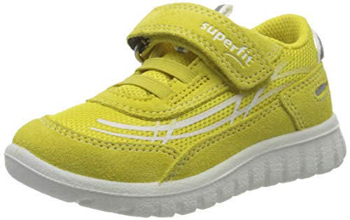 Superfit Jungen SPORT7 Mini Sneaker, Gelb (Gelb 60), 24 EU