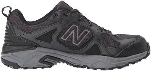 New Balance Men's 481 V3 Trail Running Shoe, Black/Grey, 10 M US 6