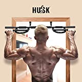 HUSK Doorway Pull Up Bar, Multi-Grip Pull-UP/Chin-UP Bar Trainer for Home Gym with Multiple Foam Handles, U Pull-Up Bar for Home Gym