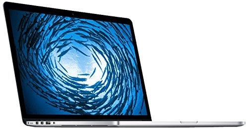 Apple MacBook Pro MJLQ2D/A 39,1 cm (15,4 Zoll) Notebook (Intel Core i7 4770HQ, 2,2GHz, 16GB RAM, 256GB HDD, Intel Iris Pro, Mac OS) weiß (Generalüberholt)