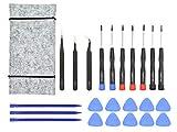 Outil de réparation pour Apple MacBook Pro, Air et Retina - Tournevis, Ouverture, Spudger et Sac à outils (23 pièces)