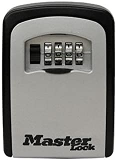 Master Lock 5401D Select Access Wall-Mounted Key Storage Box with Set-Your-Own Combination Lock, 4-Pack