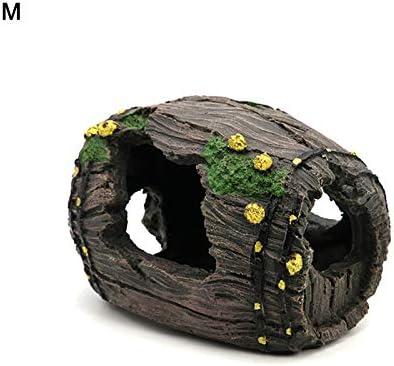 decorazione per larredamento Canna ornamentale in resina per acquario LYNN