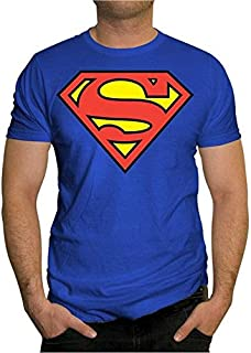 FM Superman Round Neck T-Shirt For Unisex