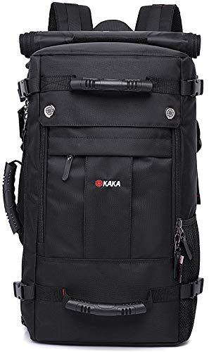 KAKA Travel Backpack,Carry-On Bag Water Resistant Flight Approved Weekender Duffle Backpack Rucksack...