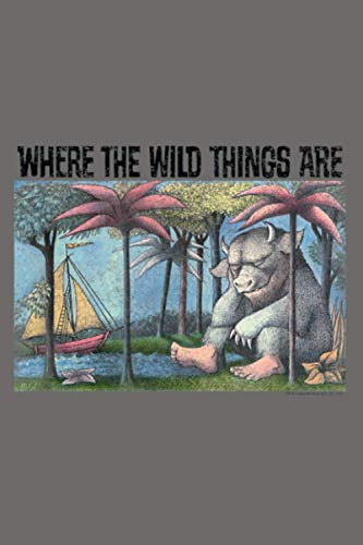 Where The Wild Things Are Cover Art: Notebook Planner - 6x9 inch Daily Planner Journal, To Do List Notebook, Daily Organizer, 114 Pages