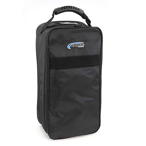 Rugged Radios HS4-BAG Four Headset Bag for Aviation and Racing Headsets, Radios and Accessories