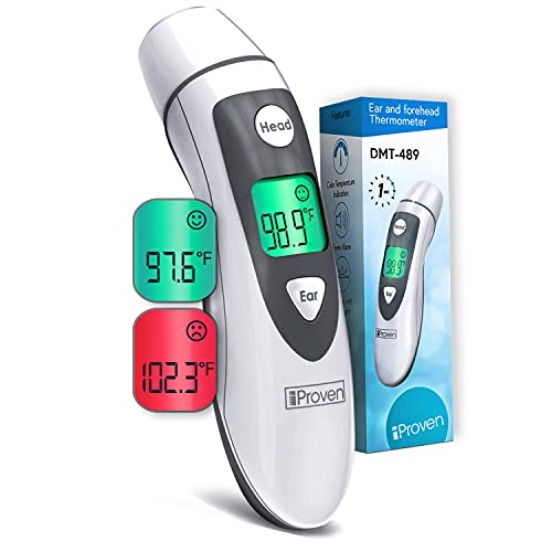 iProv`en Ear Thermometer with forehead function