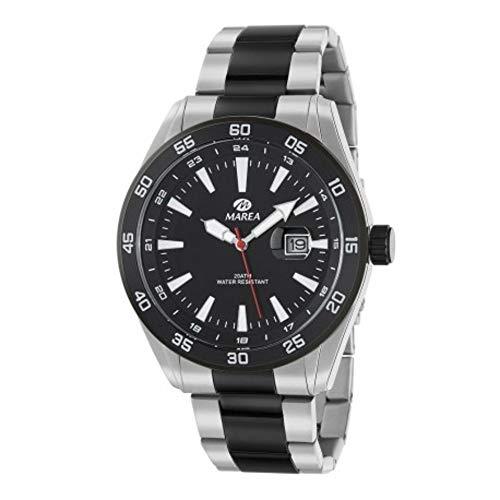 Reloj Marea Hombre Esfera Negra_B36133/1