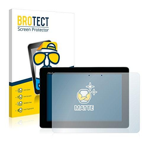 BROTECT 2X Entspiegelungs-Schutzfolie kompatibel mit Asus MeMo Pad Full HD10 ME302C 2014 Displayschutz-Folie Matt, Anti-Reflex, Anti-Fingerprint