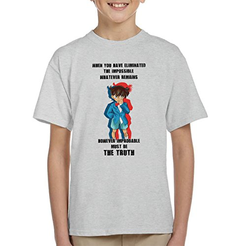 The Truth Detective Conan Case Closed Kid's T-Shirt