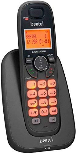 Beetel b x-70 Cordless Landline Phone ( Black)
