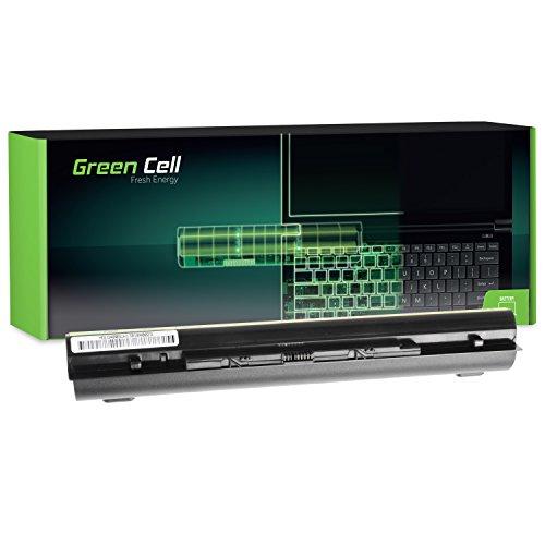 Green Cell® Extended Serie L12M4E01 Batería para Lenovo G400s G405s G500s G505s G510s IdeaPad S510p Z710 Ordenador (8 Celdas 4400mAh 14.4V Negro)