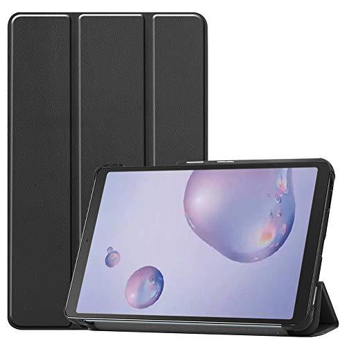 RZL Pad y Tab Fundas para Samsung Galaxy Tab A 8.4 2020 SM-T307, Cubierta Protectora de Cuero de PU, Cubierta a Prueba de Golpes para Samsung Galaxy Tab A4S 8.4 (Color : Negro)