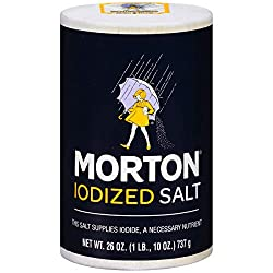 Morton Salt, Iodized, 26 oz