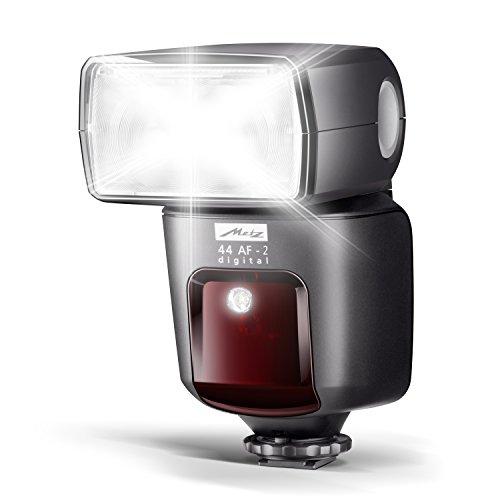 mecablitz 44 AF-2 für Sony Kameras (DSLR und CSC) | Blitzgerät mit ADI-TTL, Leitzahl 44, HSS (High Speed Sync), Hochleistungs-LED