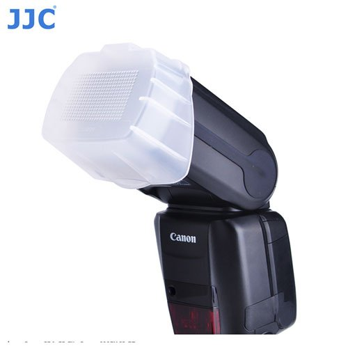 JJC FC-600EXII Flash Diffuser Dome 600EXRT Replaces Canon SBA-E3 Fit 600EX II-RT With A/&R Cleaning cloth