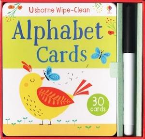Usborne Books Alphabet Cards Wipe-Clean
