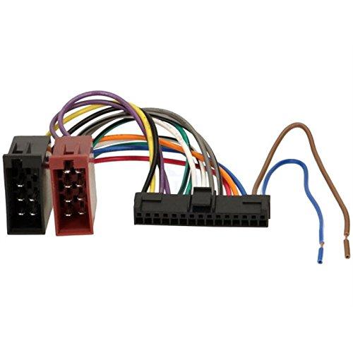 So&-way ISO Adapterkabel Autoradio kompatibel mit Pioneer 15 Pins