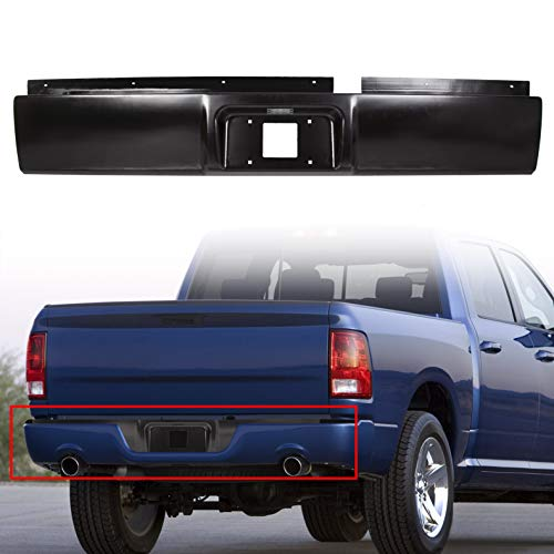HECASA Rear Steel Roll Pan Rollpan Compatible with 2002-2008 Dodge Ram 1500 | 2003-2009 2500 3500 Pickup