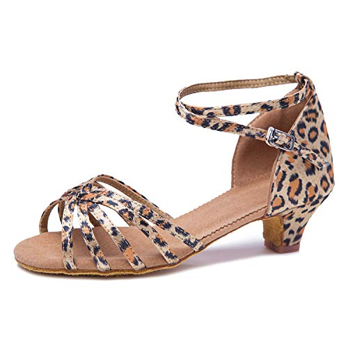 SWDZM Mujer&Niña Zapatos Latinos de Baile de Salon Salsa Tango Modern Profesional...