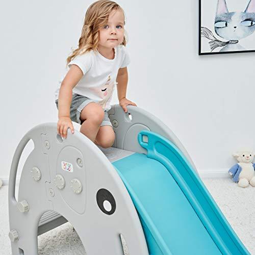 Baby Vivo Toboggan Enfant Aire de Jeux Jeu d'Extérieur et à l'Intérieur pour...