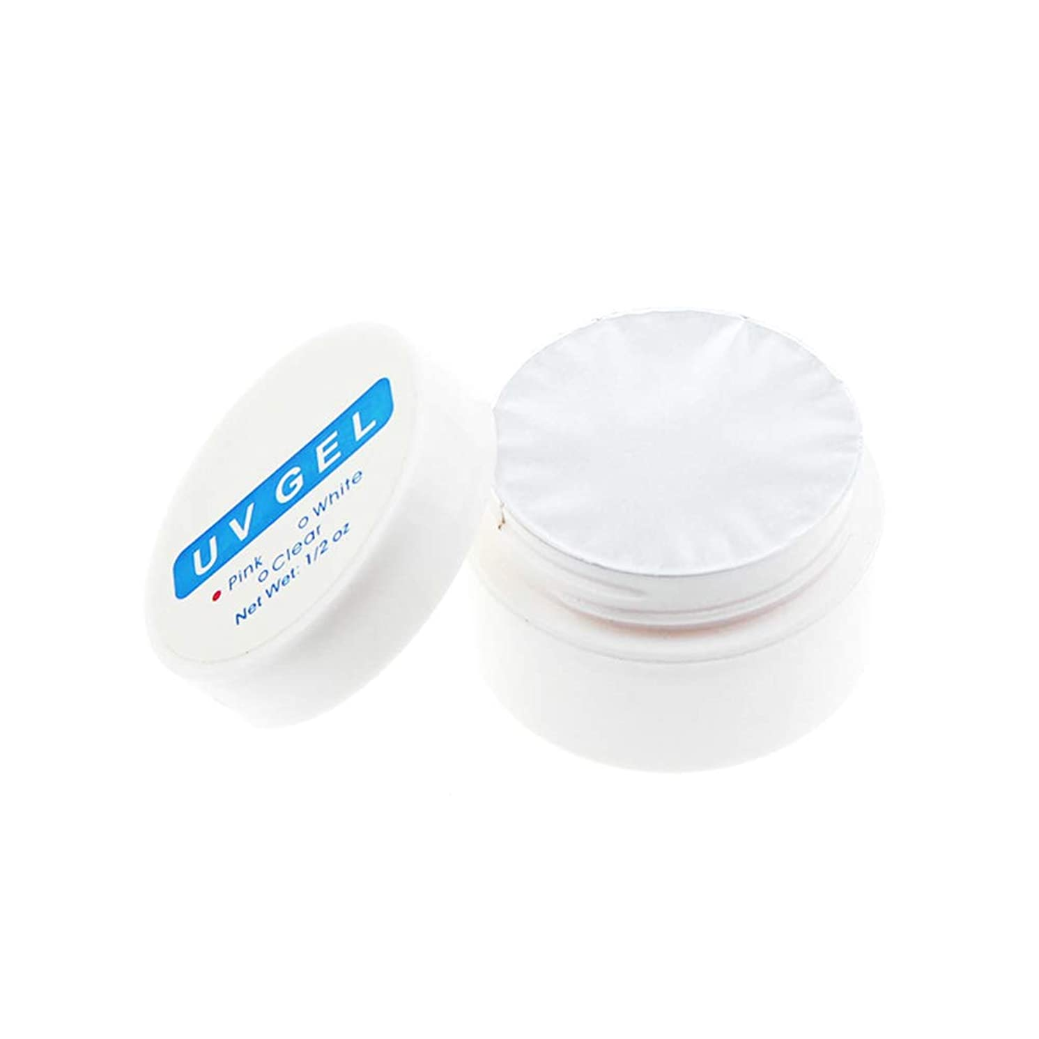 エゴマニア芸術フォロー1st market 透明な実用的なUV光線療法ネイル用品ネイル用クリスタルネイル延長接着剤必須のUVジェル、透明
