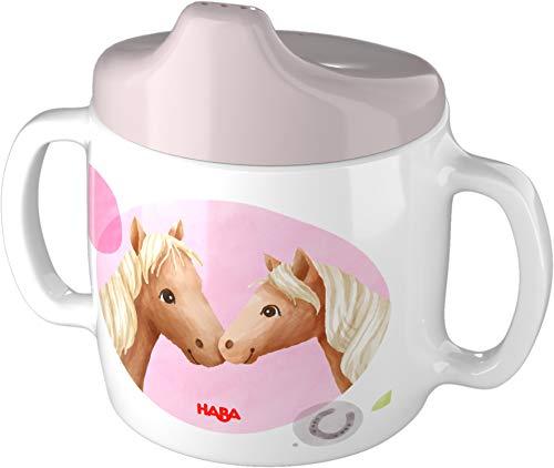 HABA 305696 - Trinklerntasse Pferde, Geschirr ab 2 Jahren