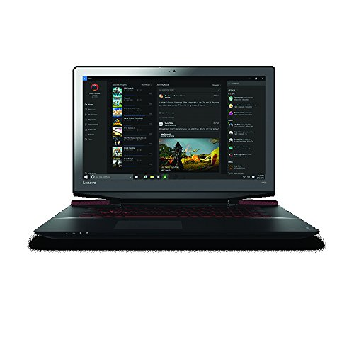 Lenovo ideaPad Y700 17.3' Full HD Gaming Notebook Computer, Intel Core i7-6700HQ 2.6GHz, 16GB RAM, 1TB HDD + 128GB SSD, NVIDIA GeForce GTX 960M GDDR5 4GB, Windows 10, Black