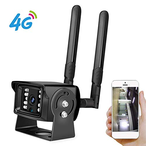 Full HD 1080P 4G Tarjeta SIM Wi-Fi Cámara IP Caja de metal ONVIF...