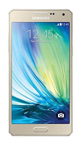 Samsung Galaxy A5 Smartphone (5 Zoll (12,7 cm)Touch-Bildschirm, 16 GB Speicher, Android 4.4) champagne gold