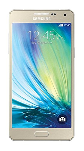 Samsung Galaxy A5 Smartphone (5 Zoll (12,7 cm)Touch-Display, 16 GB Speicher, Android 4.4) champagne gold