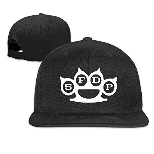Runy Custom Five Finger Death Punch sombrero y gorra de béisbol ajustable, Negro