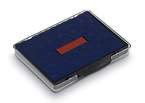 Trodat 6/58/2 Austauschkissen Ersatzkissen Stempelkissen blau-rot für Professional 5480, 1 Stück zweifarbig