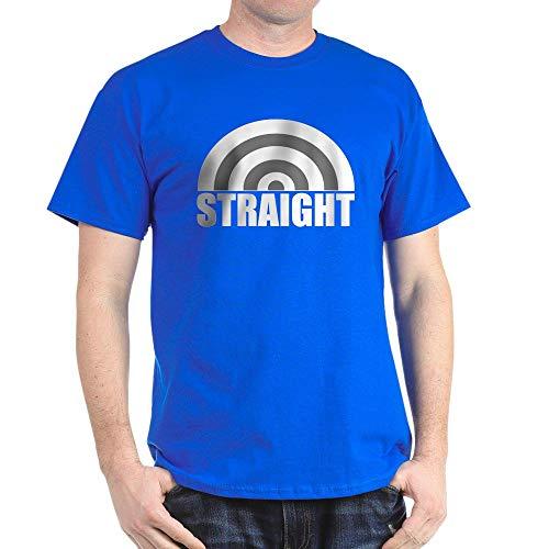 CafePress Straight Rainbow Dark T Shirt 100% Cotton T-Shirt