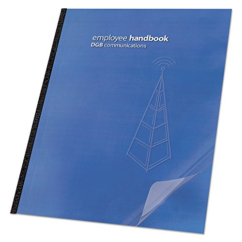 Swingline GBC 2001036 Clear View Presentation Binding System Cover 11-1/4 x 8-3/4 Clear 25/Pack