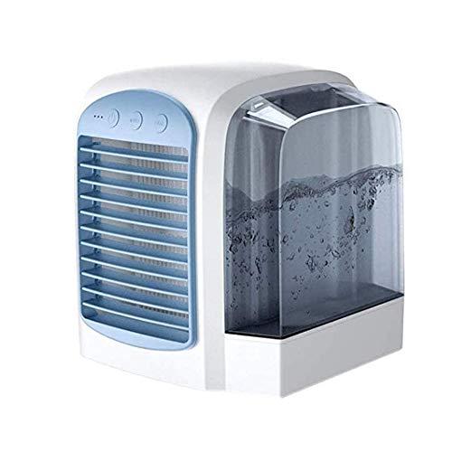 Diaod Hogar, Oficina Mini Ventilador eléctrico de sobremesa Tipo de Enfriador de Aire de circulación aumentó la versión de Artic Humidificador Mini Aire Acondicionado
