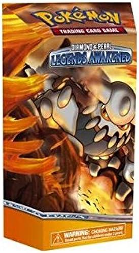 salida de fábrica Pokemon Diamond & Pearl  Legends Awakened Deck  METAL METAL METAL SURGE Theme Deck [Toy]  precioso