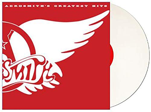 Aerosmith's Greatest Hits - Exclusive Limited Edition White Colored Vinyl LP
